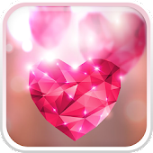 Diamond Hearts Live Wallpaper APK for iPhone