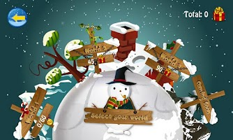 Screenshot of Christmas Slice