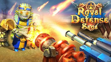 Screenshot of Royal Defense Saga
