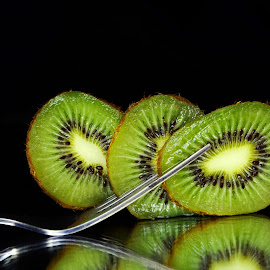 Kiwi forked by Asif Bora - Food & Drink Fruits & Vegetables
