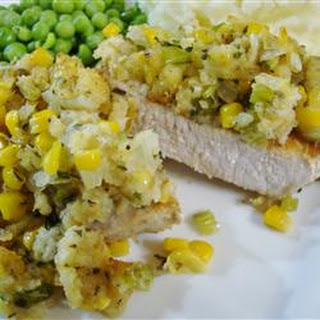 Mom's Stuffing Pork Chops