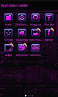 Screenshot of Purple Tech GO SMS Pro