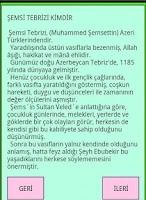 Screenshot of ŞEMSİ TEBRİZİ VE KIRK KURAL