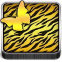 THEME - Gold Zebra Butterfly icon