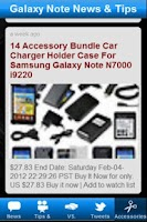 Screenshot of Galaxy Note News & Tips