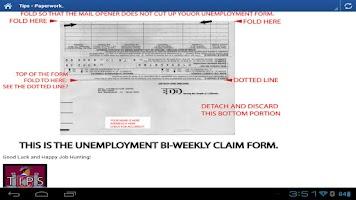 Screenshot of EDD HELP - Unemployment CA