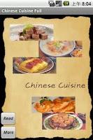 Screenshot of Chinese Cuisine Recipes - Lite