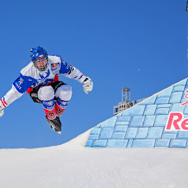 Michael Urban #CrashedIce © 2014 Boucerman Photography by Thomas Nelson - Sports & Fitness Other Sports