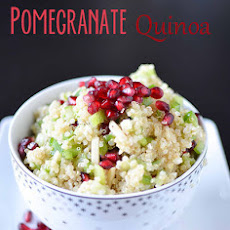 Holiday Pomegranate Quinoa Salad