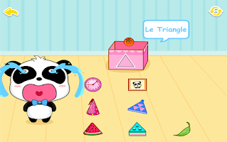 Screenshot of Bébé apprend les formes