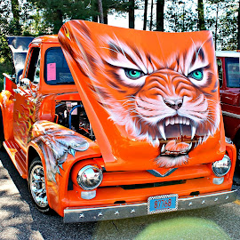 The BEAST by Paul Zeien - Transportation Automobiles ( tiger, truck, truck show, badgerland f-100's, ford )