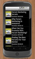 Screenshot of Forum Marketing Secrets