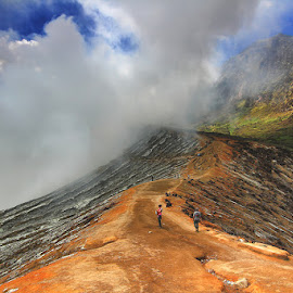 Ijen Mountain, Indonesia by Denny Iswanto - Landscapes Mountains & Hills