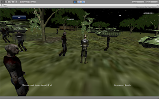 Screenshot of Soldier VS. Zombies