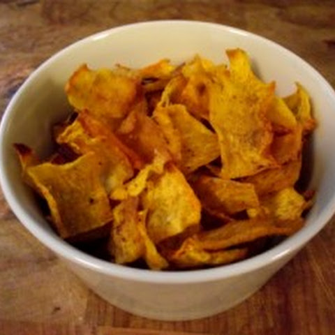Crispy Pumpkin Chips
