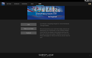 Screenshot of INI TV