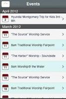 Screenshot of Gulf Breeze Methodist Church