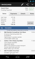 Screenshot of MobileBiz Lite - invoice App