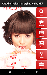 Hairstyling Halle - screenshot