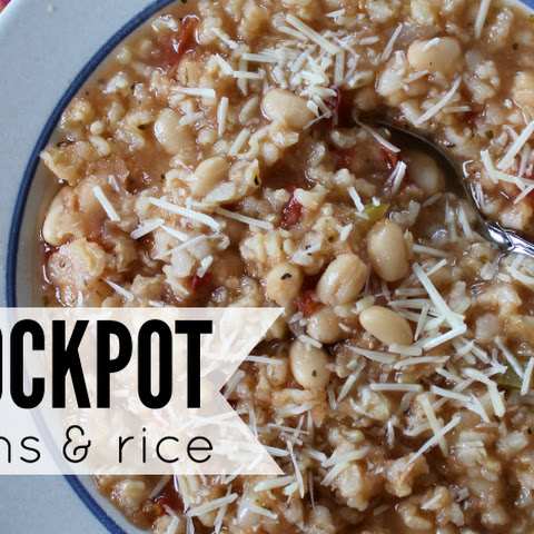 Crockpot Beans and Rice