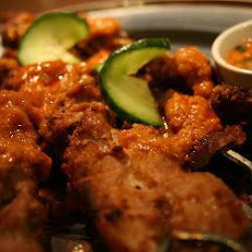 Singapore Style Chicken Satay