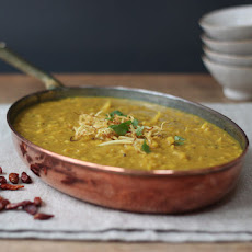 Tarka Dhal With Crispy Ginger