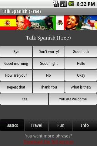 Talk Spanish Free