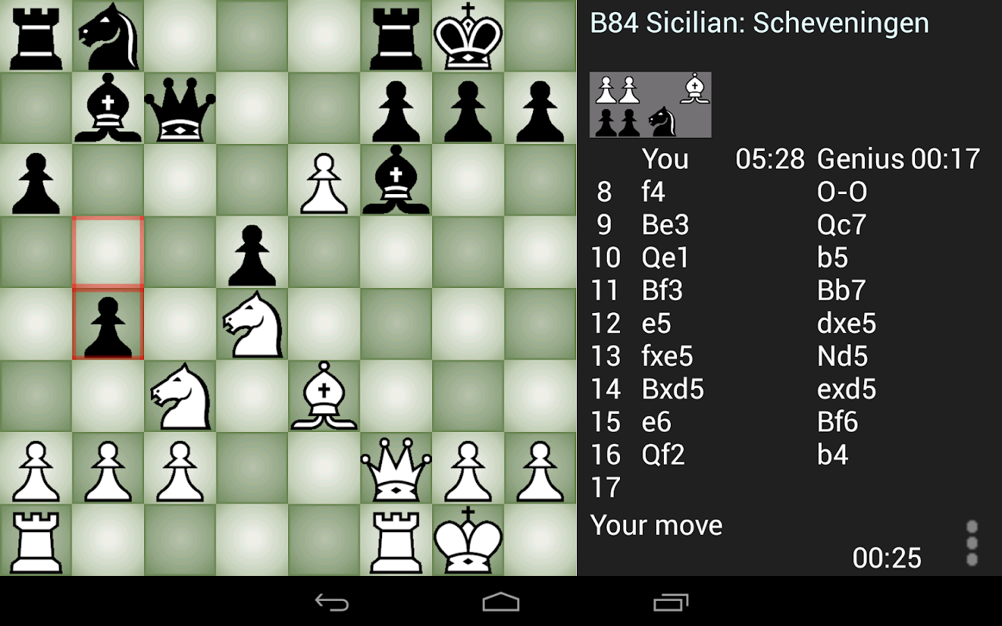 Chess Genius Screenshot 4