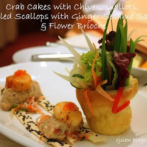 Timbale Of Shrimps, Tomato Avocado, Citrus Dressing ...
