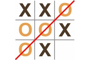 Screenshot of Noughts and Crosses