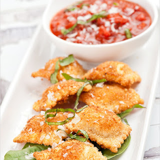 Fried Ravioli with Marinara