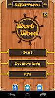 Screenshot of Word Wheel