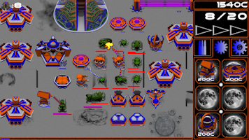 Screenshot of Lunar Defense Demo
