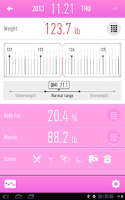 Screenshot of Weight Loss Tracker - RecStyle