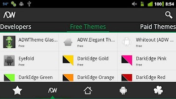 Screenshot of N3xGen Theme Manager