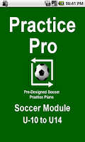 Screenshot of Soccer Coaching Plans U10-U14