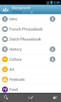 Screenshot of Antwerp Travel Guide Triposo