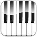 Teclas de piano icon