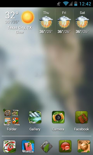 Nature HD Apex Nova Theme