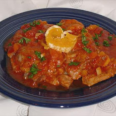 Pork Chops in Orange-Apricot Sauce