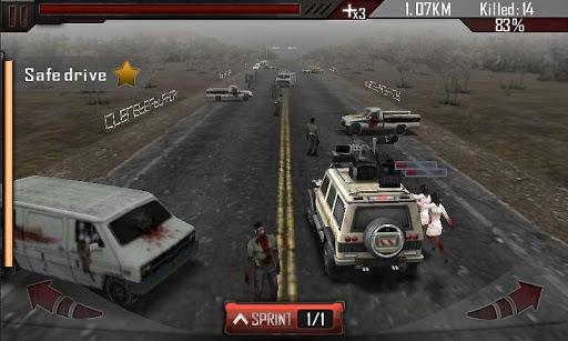 Zombie Rokill 3D - screenshot