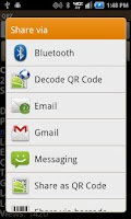 Screenshot of QRZDroid