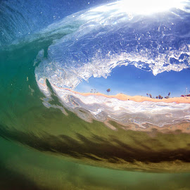 Newport Beach clarity by Anthony Drake - Landscapes Underwater