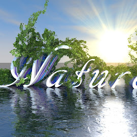 Mother Nature by Shaasn ND - Typography Words ( nature, 3d art, mother nature )
