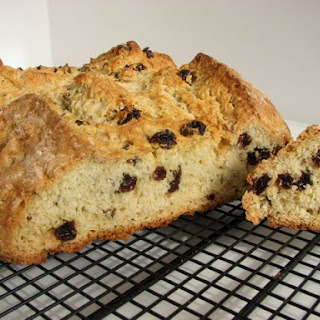 American-Style Irish Soda Bread with Raisins and Caraway Seeds