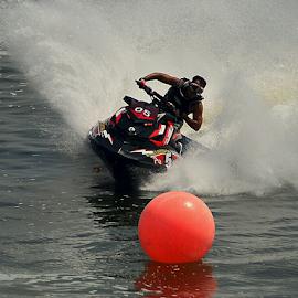 Slalom by Sigit Purnomo - Sports & Fitness Watersports