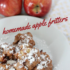 Homemade Cinnamon Apple Fritters