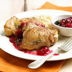 Roasted Cranberry Chicken