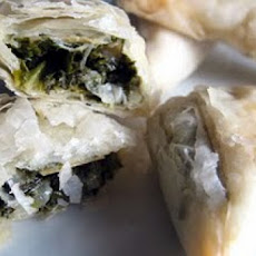 Spinach, Feta, and Phyllo Purses