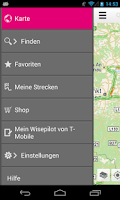 Screenshot of Wisepilot von T-Mobile (Trial)